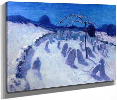 Dance Of The Gravestones By Bernhard Gutmann