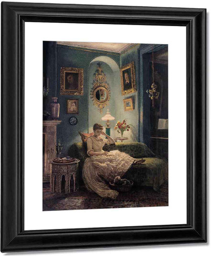 An Evening At Home By Sir Edward John Poynter