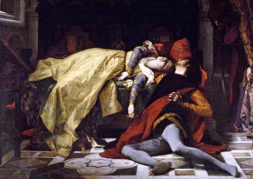Death Of Francesca Da Rimini And Paolo Malatesta By Alexandre Cabanel