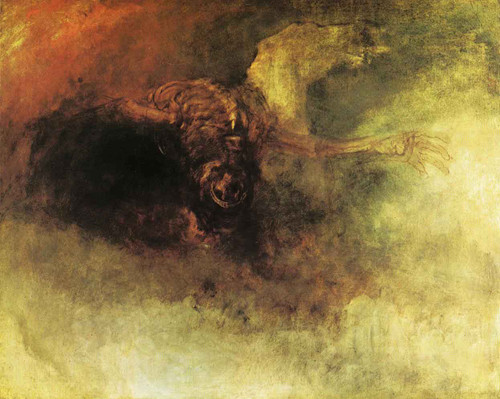 Death On A Pale Horse1 By Joseph Mallord William Turner