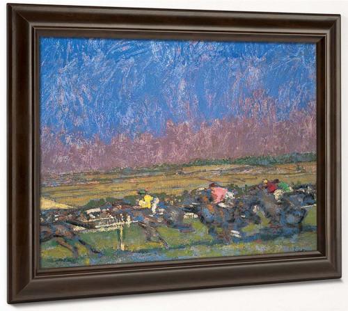 Dieppe Races By Walter Richard Sickert By Walter Richard Sickert