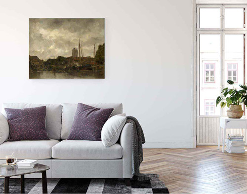 Dordrecht By Jacob Henricus Maris