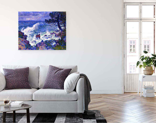 East Wind By Theo Van Rysselberghe