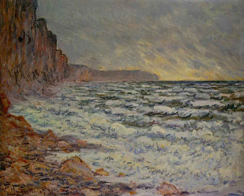 Fecamp, By The Sea By Claude Oscar Monet