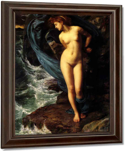 Andromeda By Sir Edward John Poynter Oil on Canvas Reproduction