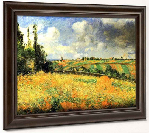 Fields By Camille Pissarro By Camille Pissarro
