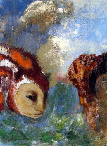 Angelica And The Dragon By Odilon Redon