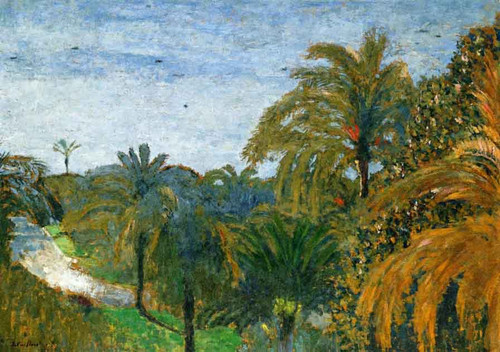 Garden In Cannes By Edouard Vuillard