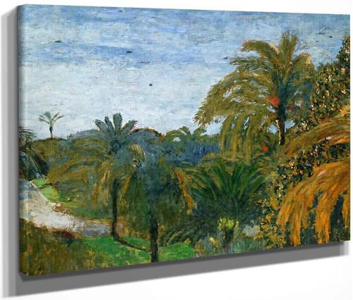 Garden In Cannes By Edouard Vuillard