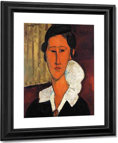 Anna  Zborowska By Amedeo Modigliani
