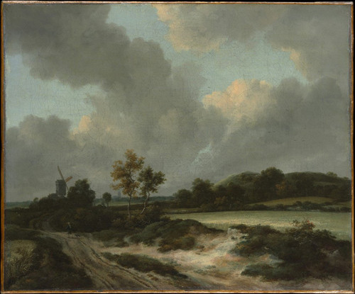 Grainfields By Jacob Van Ruisdael