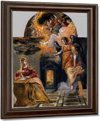 Annunciation1 By El Greco