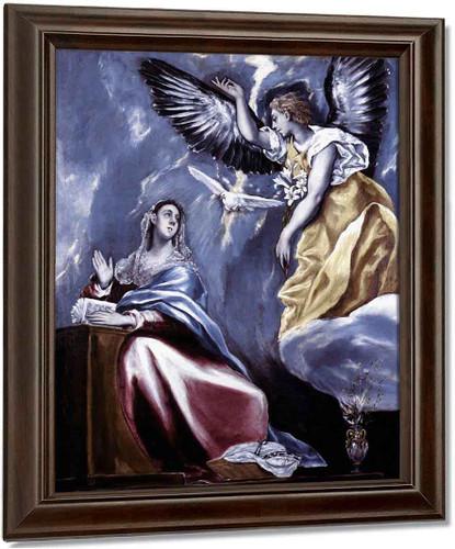 Annunciation2 By El Greco