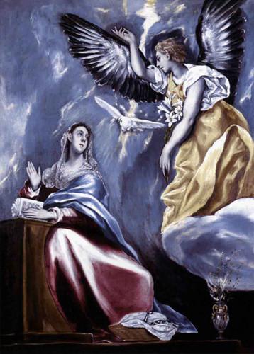 Annunciation2 By El Greco By El Greco
