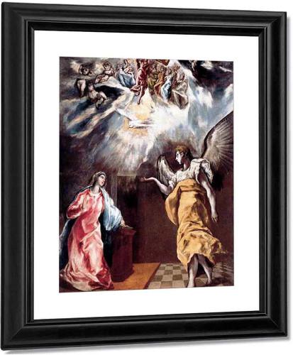 Annunciation By El Greco By El Greco