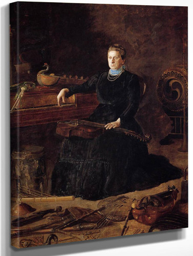 Antiquated Music By Thomas Eakins By Thomas Eakins