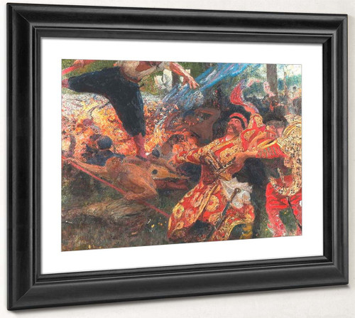 Hopak. By Ilia Efimovich Repin By Ilia Efimovich Repin