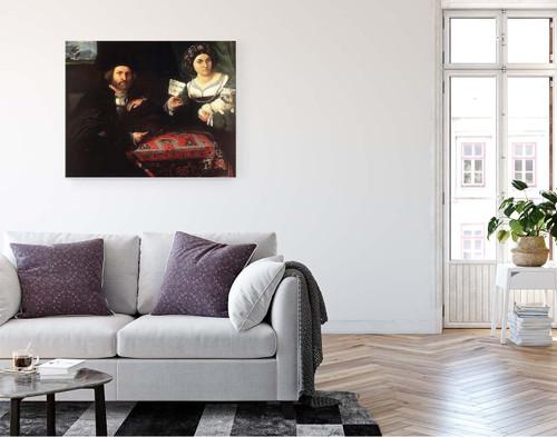 Husband And Wife By Lorenzo Lotto