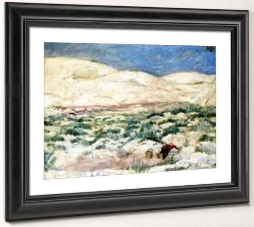 In The Moving Dunes By Max Beckmann By Max Beckmann