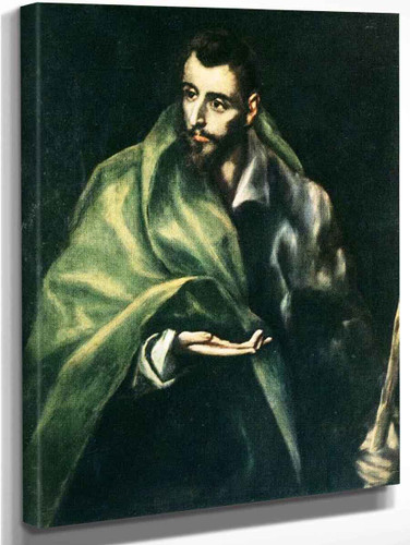 Apostle St James The Greater By El Greco By El Greco