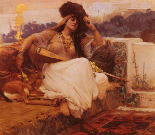 Indolence By Frederick Arthur Bridgman