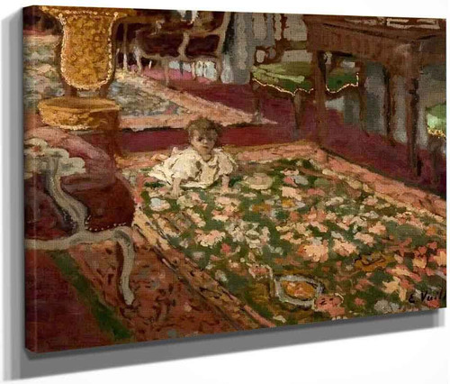 Interior The Drawing Room By Edouard Vuillard