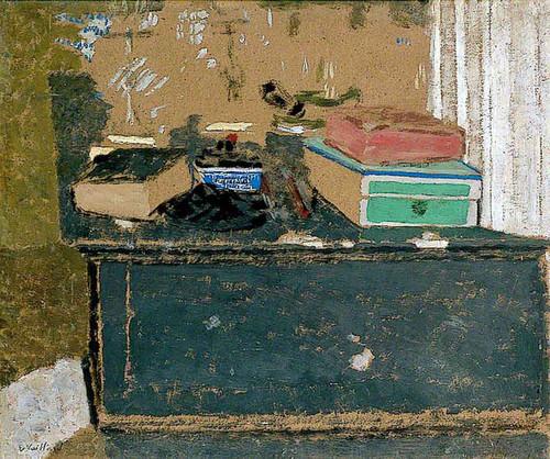 L'encrier Bleu Sur La Cheminee By Edouard Vuillard