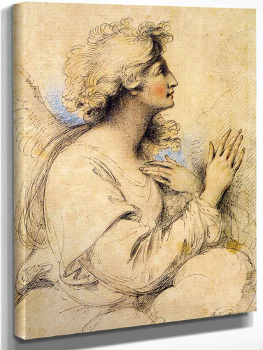 Archangel Gabriel Of The Annunciation By Benjamin West American1738 1820