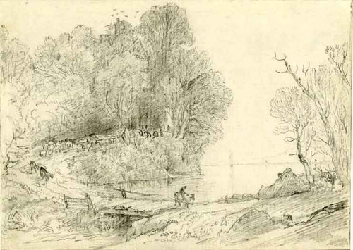 Landscape With A Lake By Francis Danby