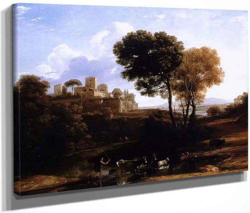 Landscape With Shepherds By Claude Lorrain By Claude Lorrain
