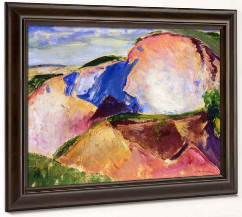 Landscape3 By Alfred Henry Maurer By Alfred Henry Maurer