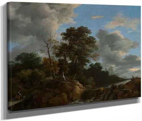 Landscape By Jacob Van Ruisdael
