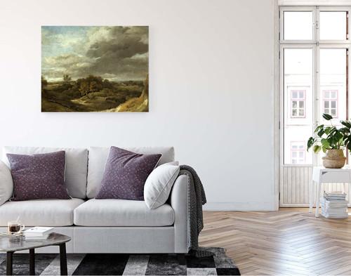 Landscape By Thomas Gainsborough  By Thomas Gainsborough