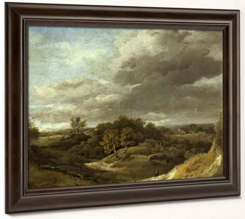 Landscape By Thomas Gainsborough  By Thomas Gainsborough