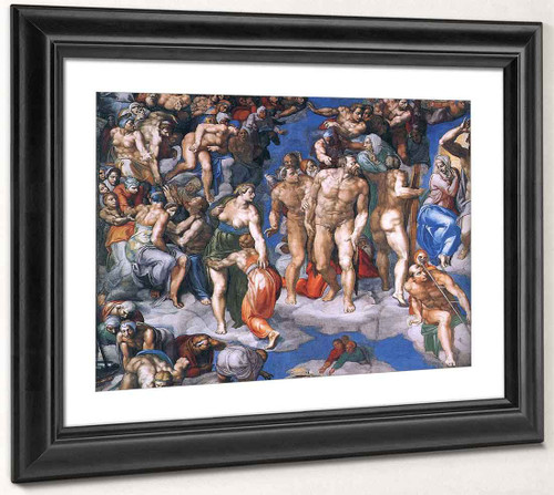 Last Judgment  25 By Michelangelo Buonarroti By Michelangelo Buonarroti