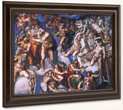 Last Judgment  By Michelangelo Buonarroti By Michelangelo Buonarroti