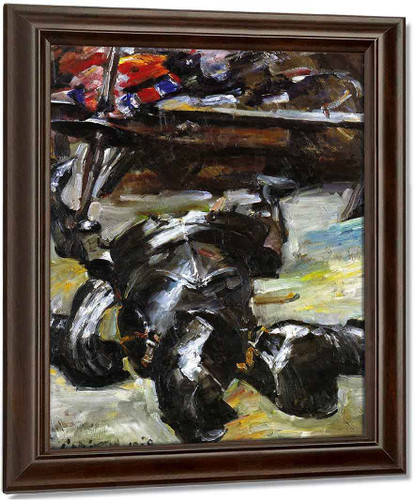 Armour In The Studio By Lovis Corinth Oil on Canvas Reproduction