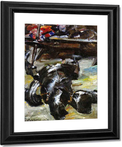 Armour In The Studio By Lovis Corinth By Lovis Corinth