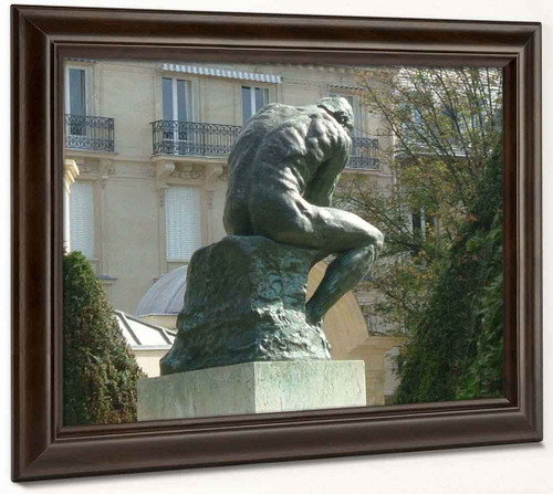 Le Penseur (The Thinker Rear View) By Auguste Rodin(French, 1840 1917)