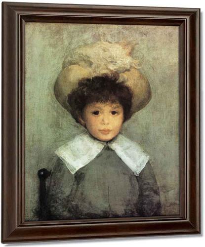 Arrangement In Grey Portrait Of Master Stephen Manuel By James Abbott Mcneill Whistler