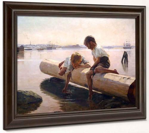 Little Boat By Albert Edelfelt