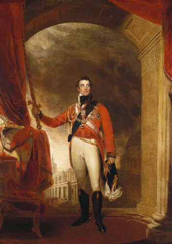 Arthur Wellesley, First Duke Of Wellington By Sir Thomas Lawrence