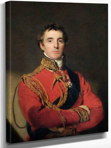 Arthur Wellesley  By Sir Thomas Lawrence