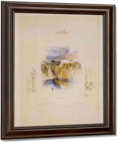 Ashestiel By Joseph Mallord William Turner