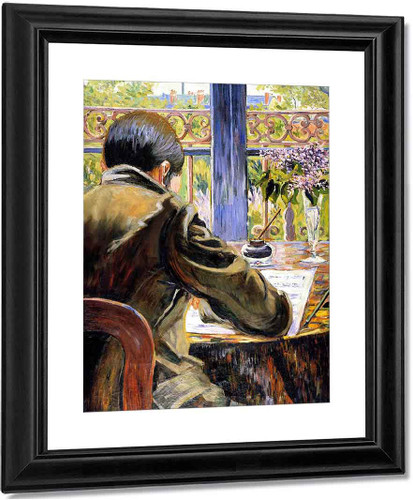 Asnieres Study Charles Torquet Seen From Behind By Paul Signac