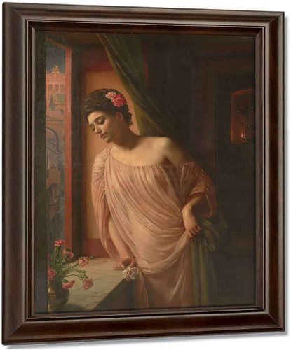Asterie By Sir Edward John Poynter Oil on Canvas Reproduction