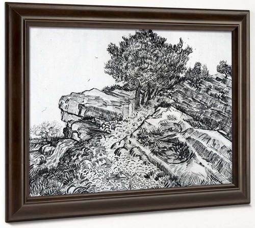 Montmajour By Vincent Van Gogh