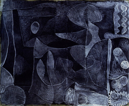 Morgangrau By Paul Klee By Paul Klee