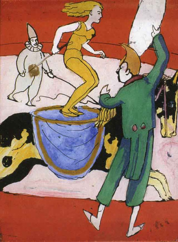 At The Circus By August Macke