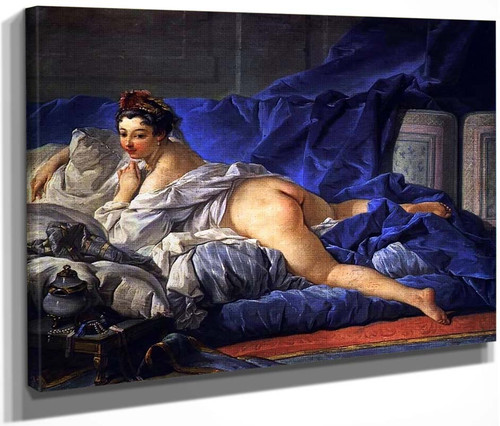 Odalisque Brune By Francois Boucher